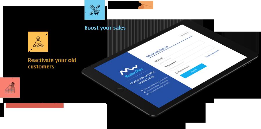 Customer Loyalty & Survey App - MembersWave
