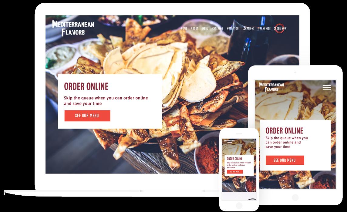 Restaurant Website Design Development Marketing